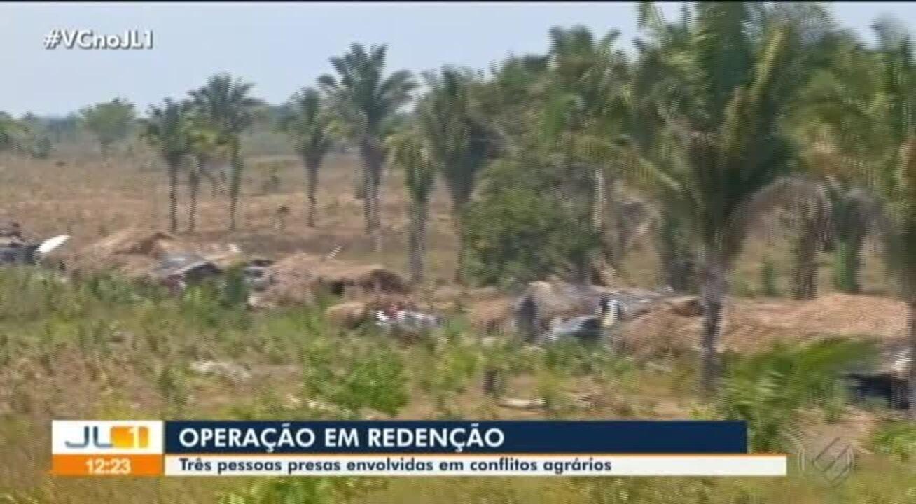 Operação em Redenção prende três pessoas envolvidas em conflitos agrários
