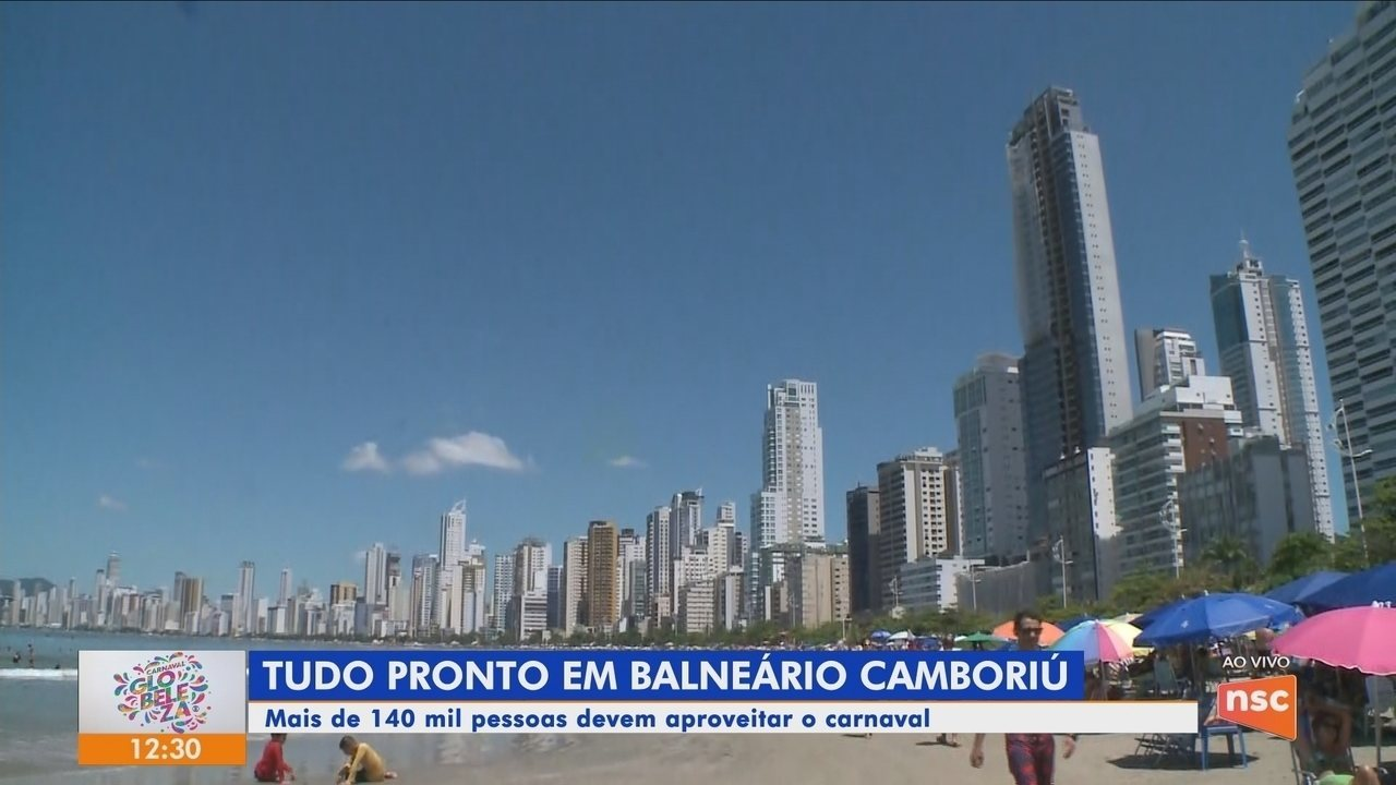 Confira a programação do carnaval de Balneário Camboriú