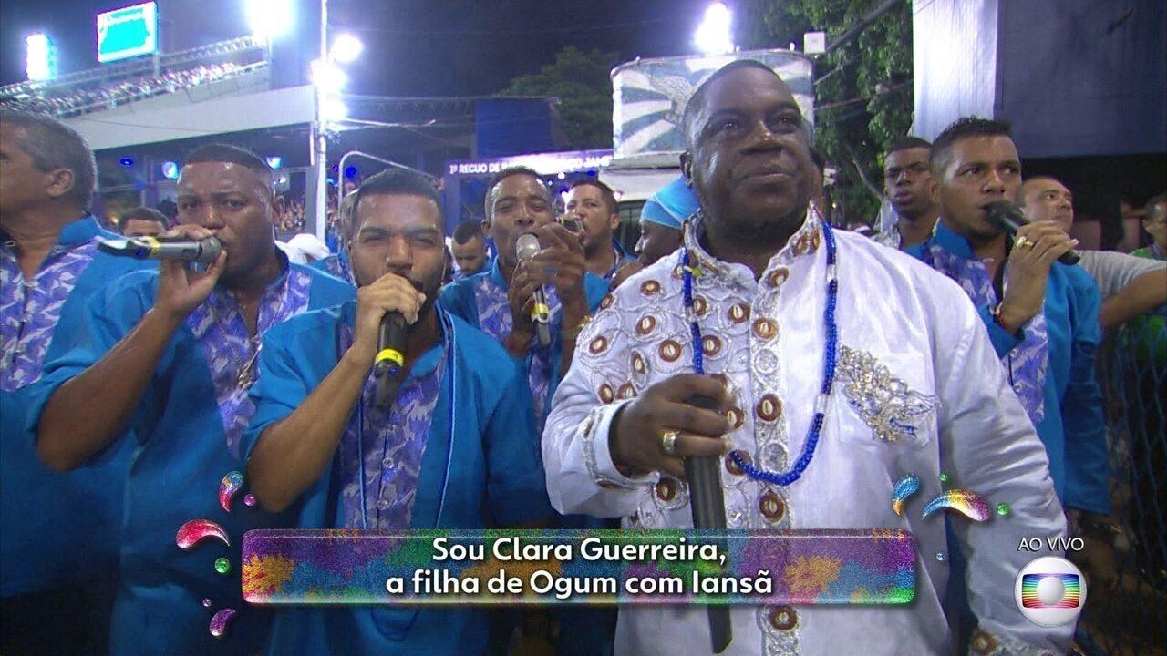 Samba da Portela fala da história de amor entre Clara Nunes e a Portela