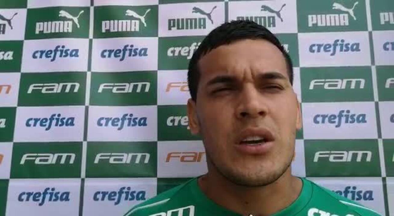 Gustavo Gómez fala da ausência de Luan no Palmeiras