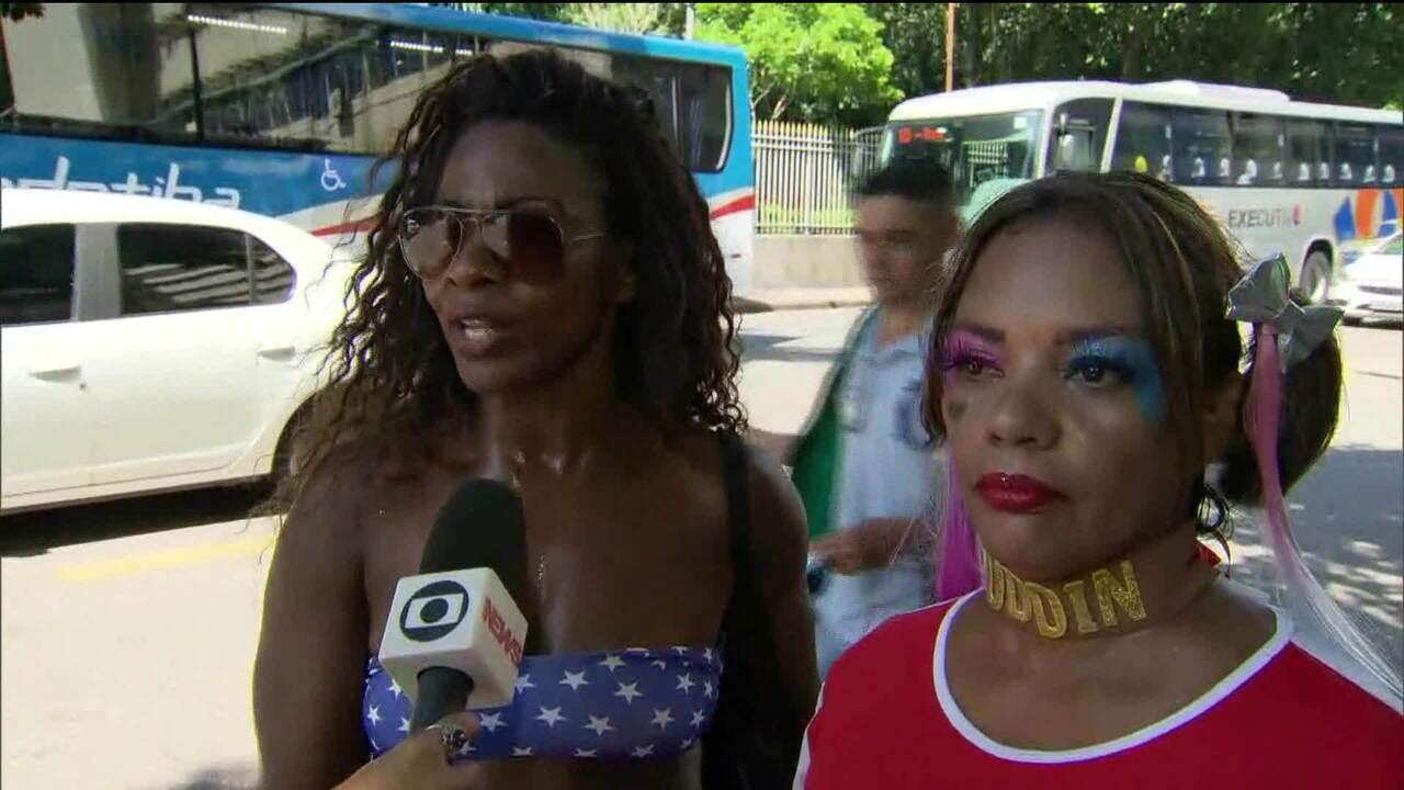 Foliões contaram como foi a confusão no bloco Fervo da Lud, no Rio