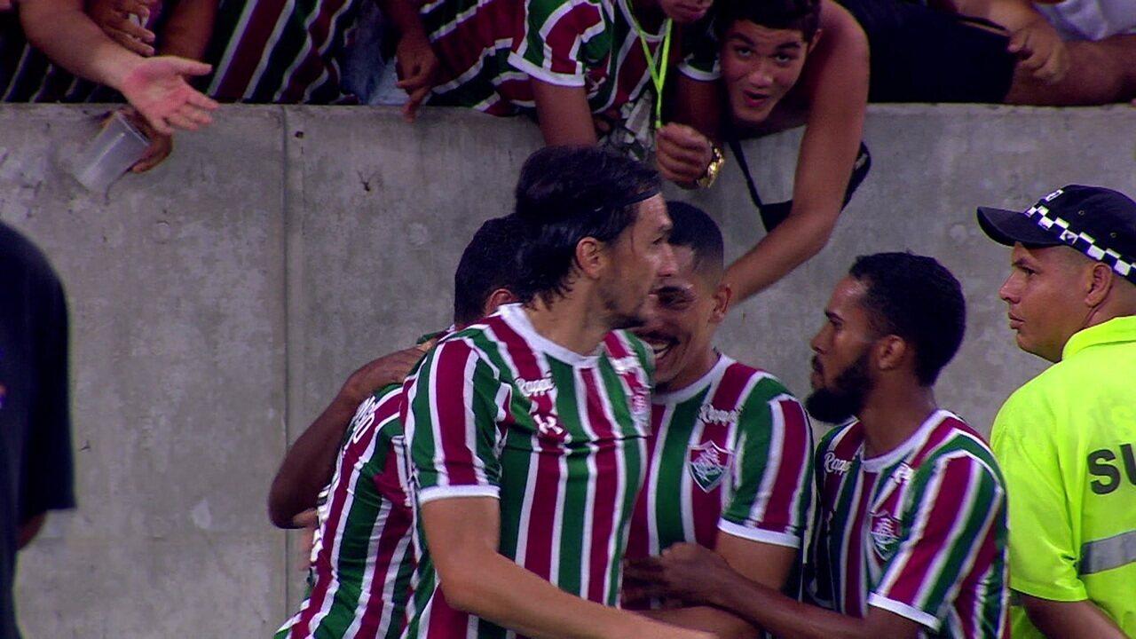 Os gols de Fluminense 3 x 0 Ypiranga pela 2ª fase da Copa do Brasil
