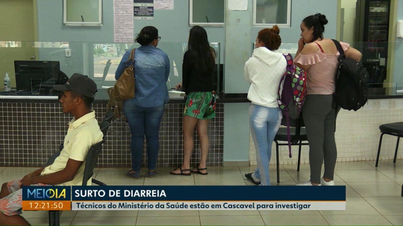 Saiba o que está sendo feito pra combater surto de diarreia em Cascavel