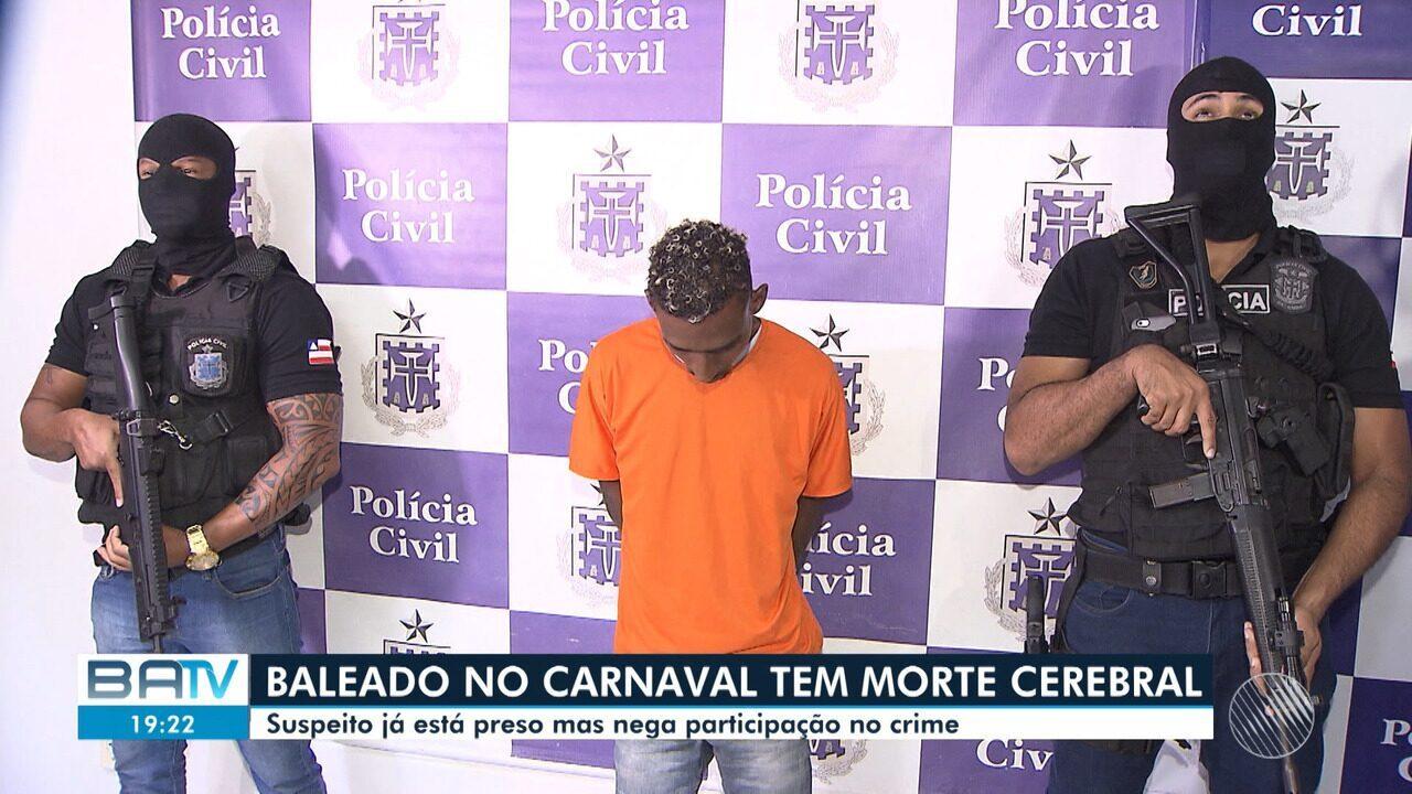 Mãe comenta morte de jovem baleado no carnaval de Salvador; suspeito nega o crime