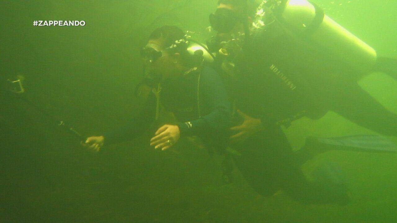 Parte 3: Pra fechar, Dieguinho fala sobre mergulho no Amapá
