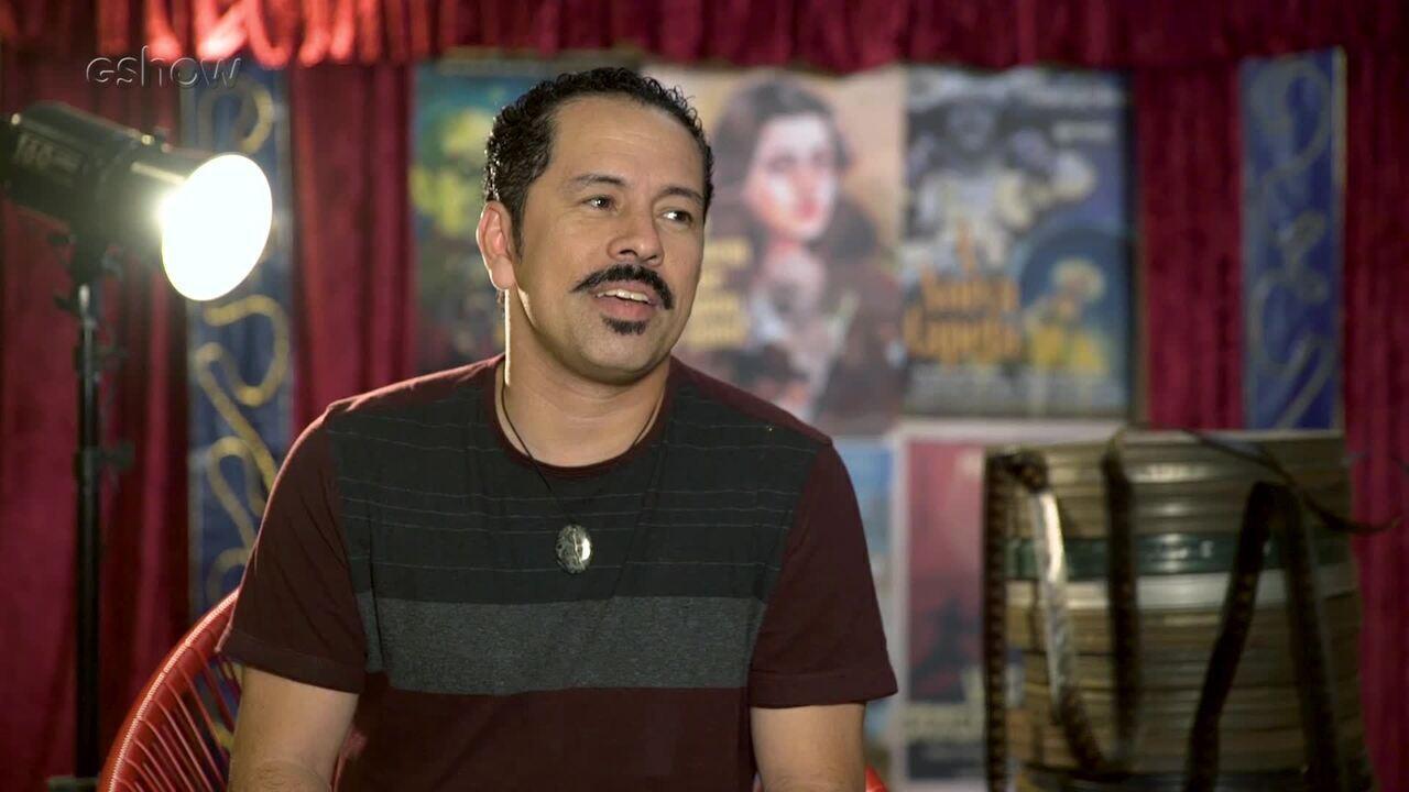 Edmilson Filho apresenta seu personagem em 'Cine Holliúdy'