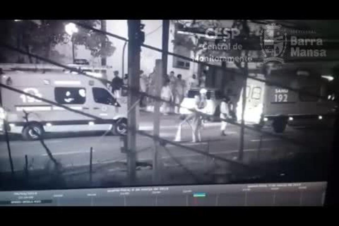 Vídeo mostra momento do atropelamento que matou adolescente em Barra Mansa