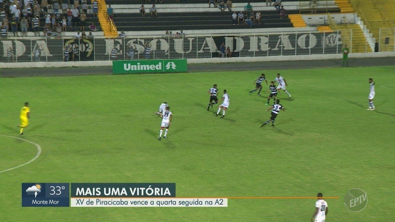 XV de Piracicaba vence quarta partida seguida na série A2 do Campeonato Paulista