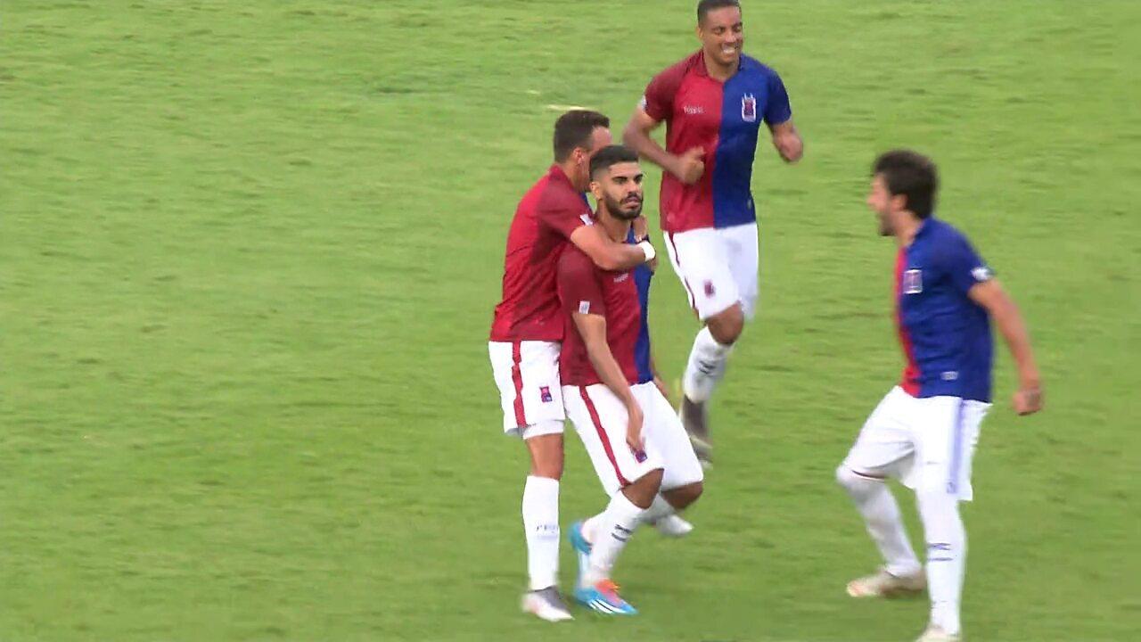 Gol do Paraná! Rodolfo faz o segundo gol no fim do segundo tempo