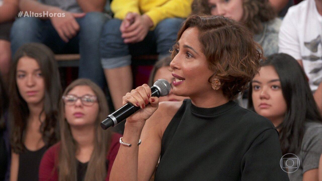 Camila Pitanga fala sobre história de luta de sua mãe, Vera Manhães