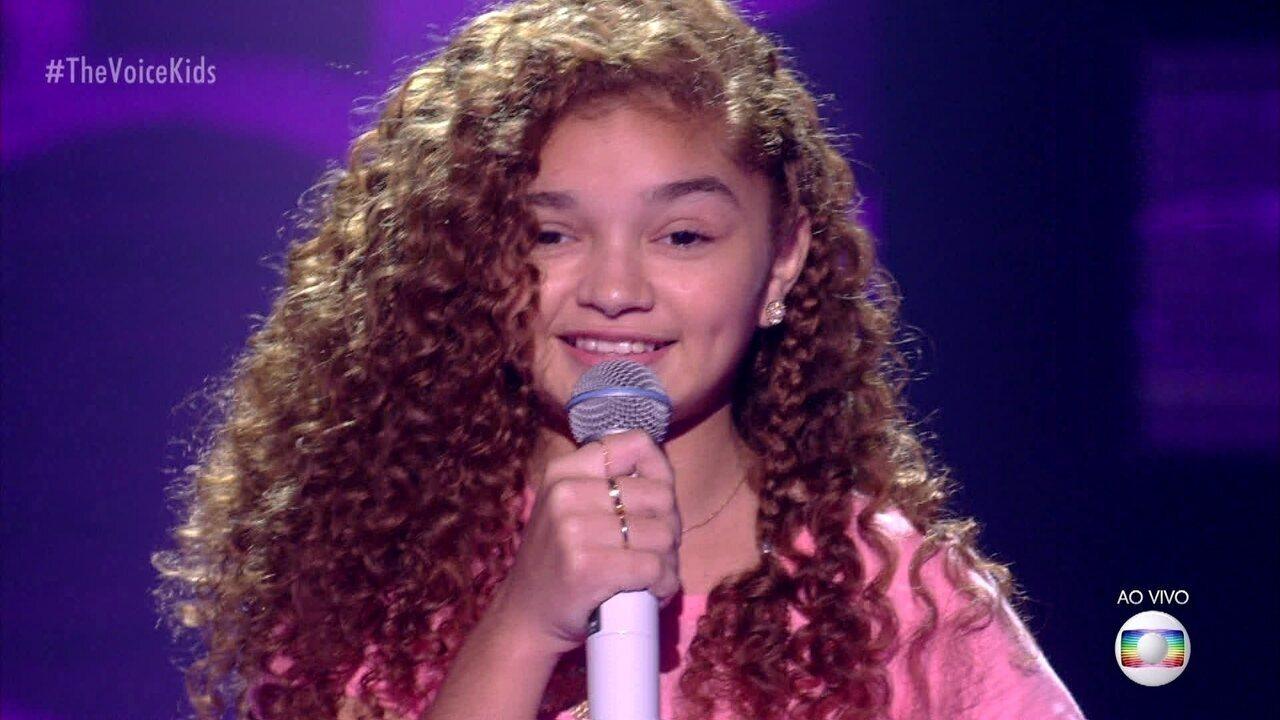 Raylla Araújo canta ''Zero a Dez''
