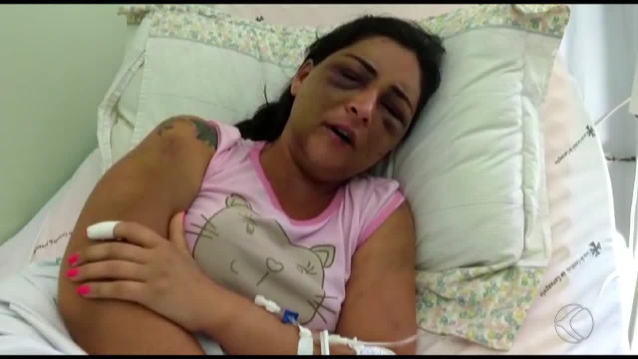 Resultado de imagem para Uma semana depois de agressões do namorado, Jane Cherubim recebe alta