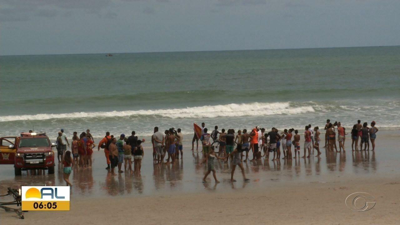 Duas pessoas se afogaram na Praia do Sobral no domingo
