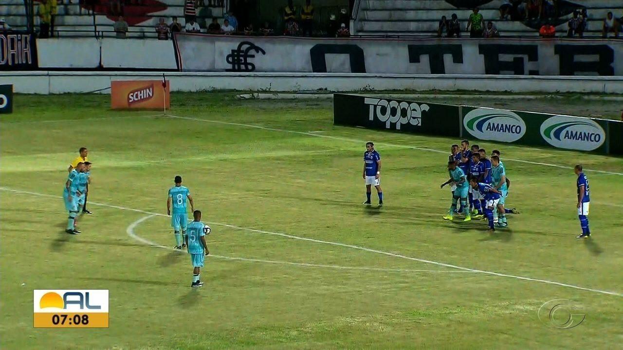 Fora de casa, CSA empata com o Santa Cruz pela Copa do Nordeste