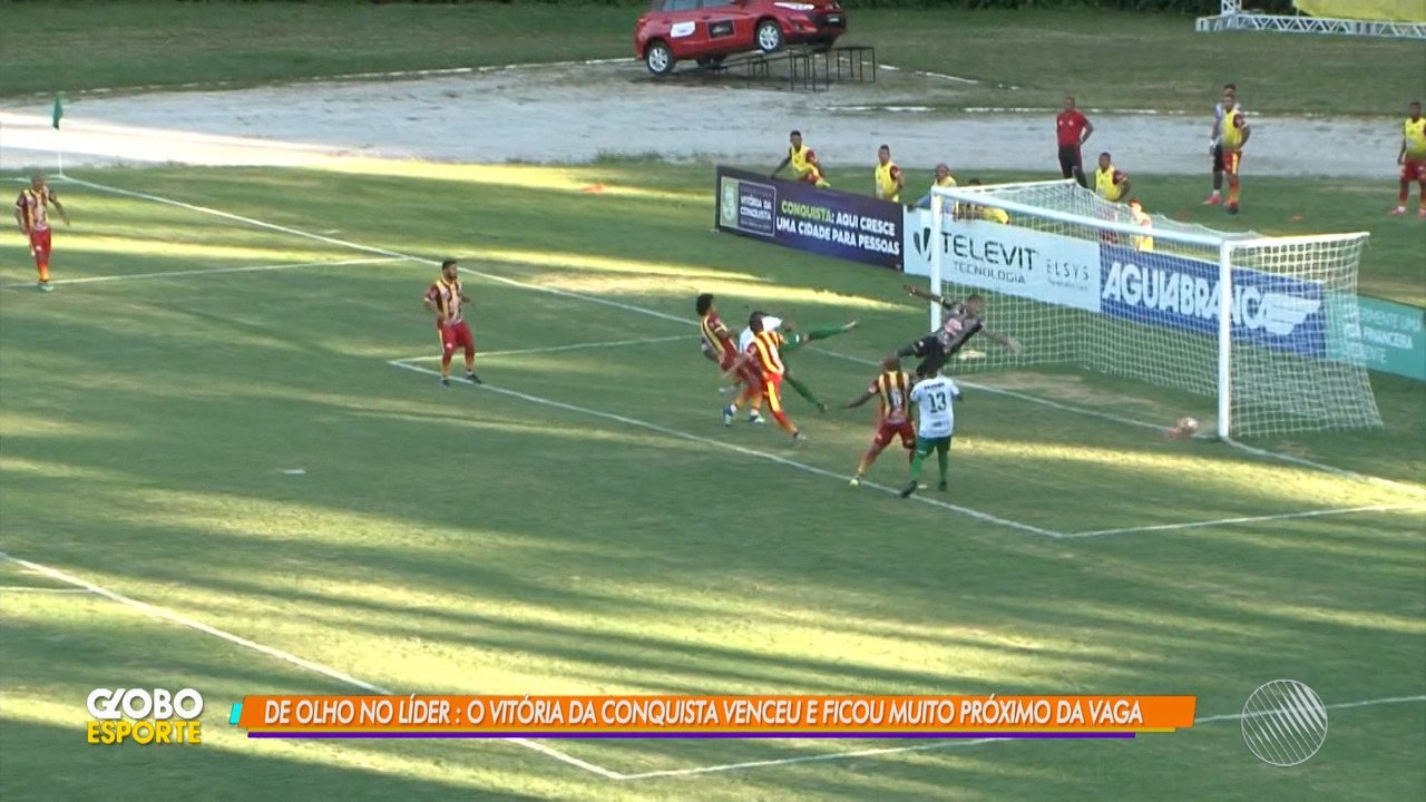 Vitória da Conquista vence o Juazeirense e ocupa a vice-liderança do Campeonato Baiano