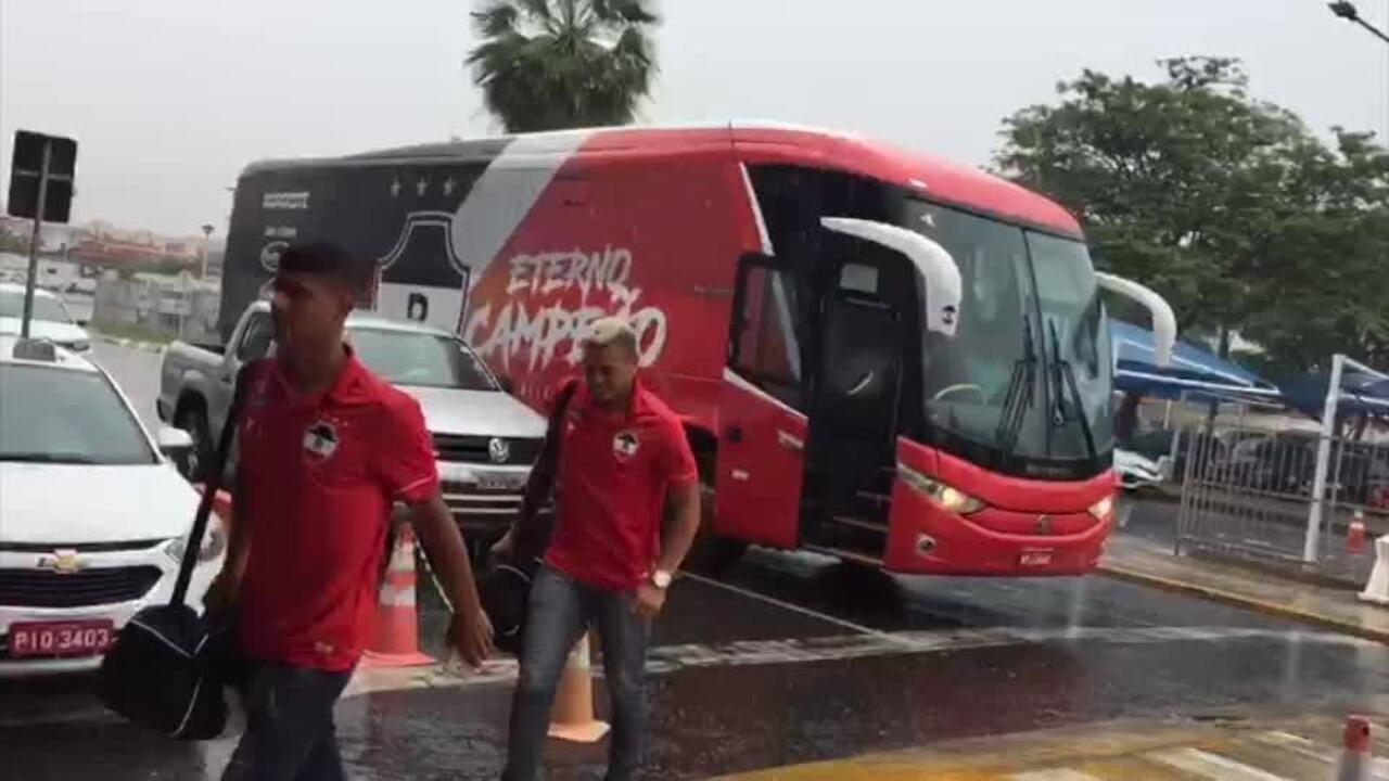 River-PI embarcam para São Paulo para confronto com Corinthians pela Copa do Brasil Sub 20