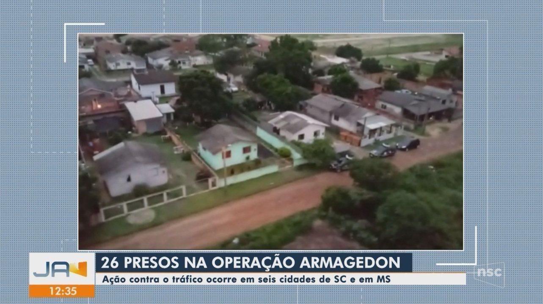 Polícia Civil deflagra Operação Armagedon contra tráfico de drogas no Sul de SC
