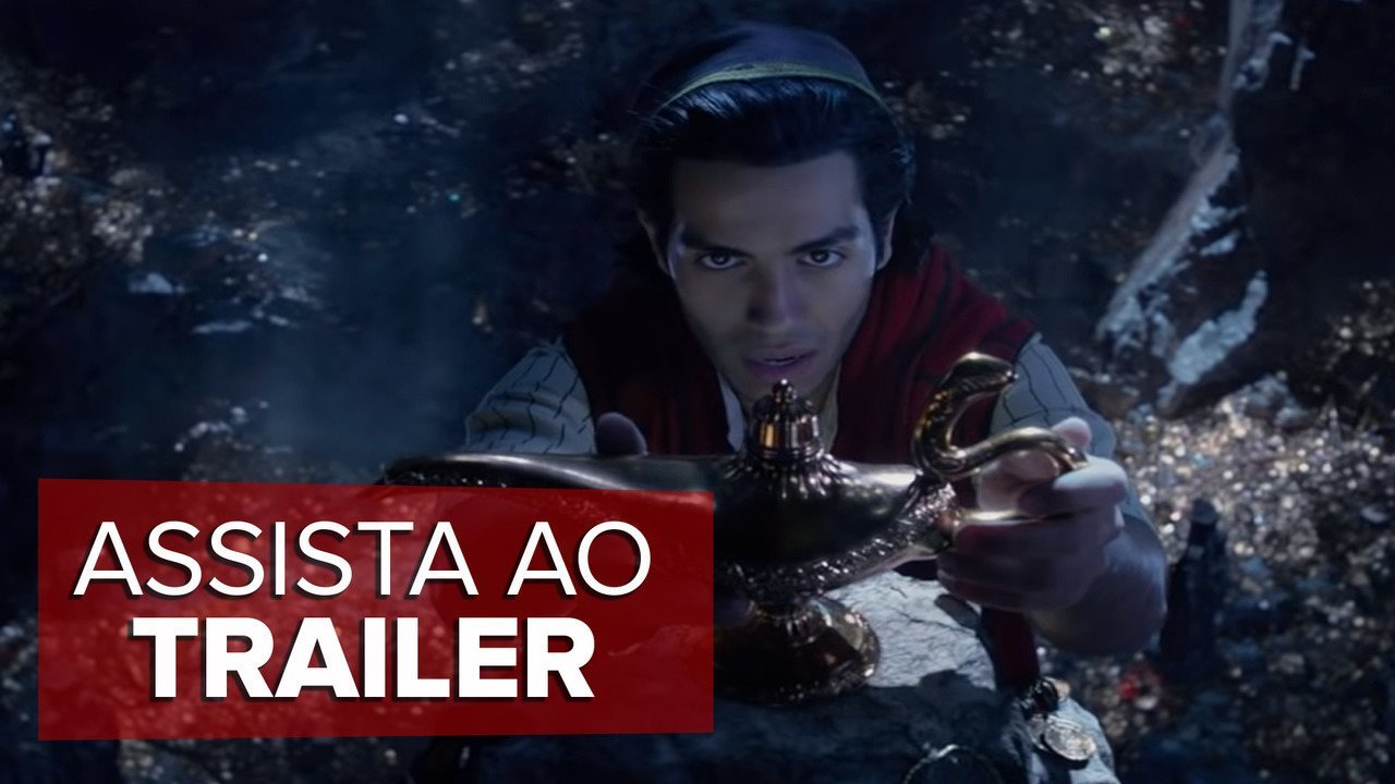 Assista ao novo trailer de Aladdin
