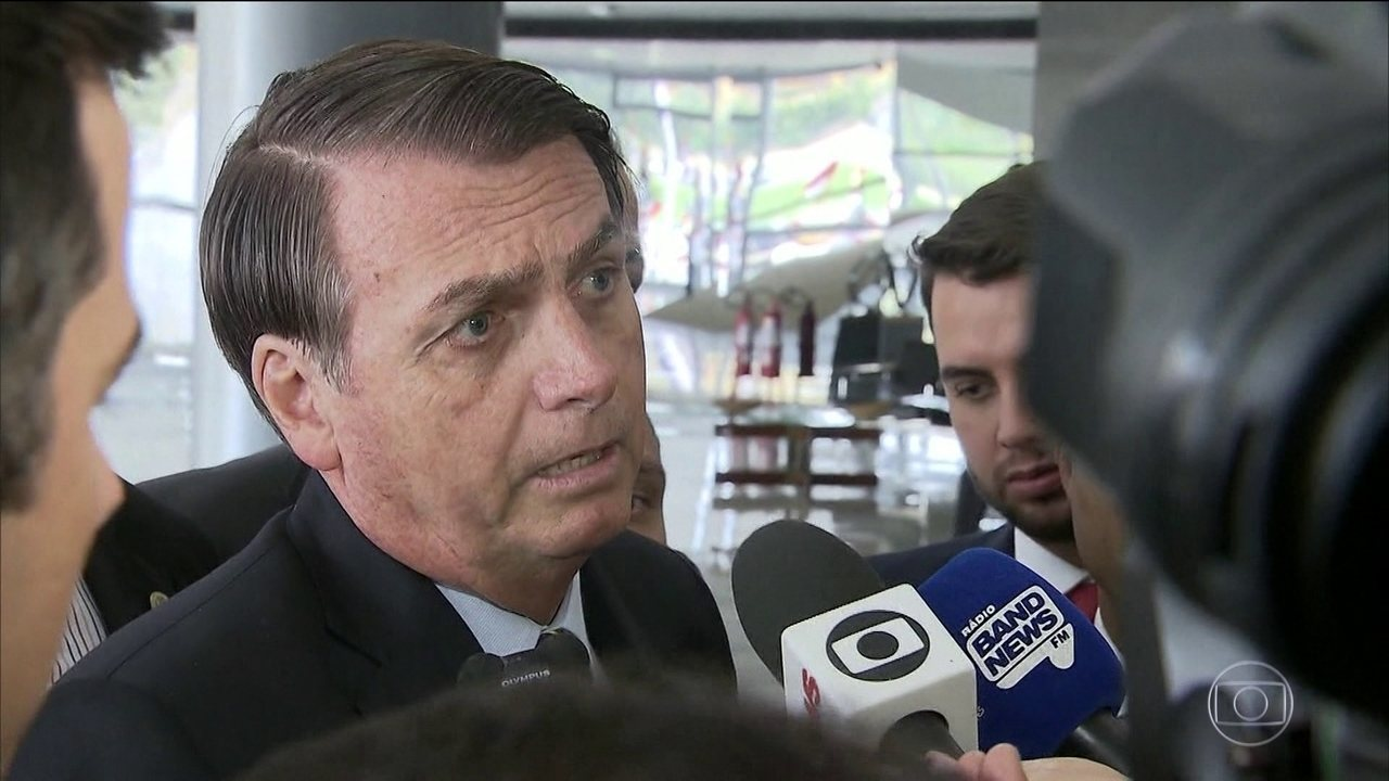Jair Bolsonaro fala sobre caso Marielle Franco e Anderson Gomes