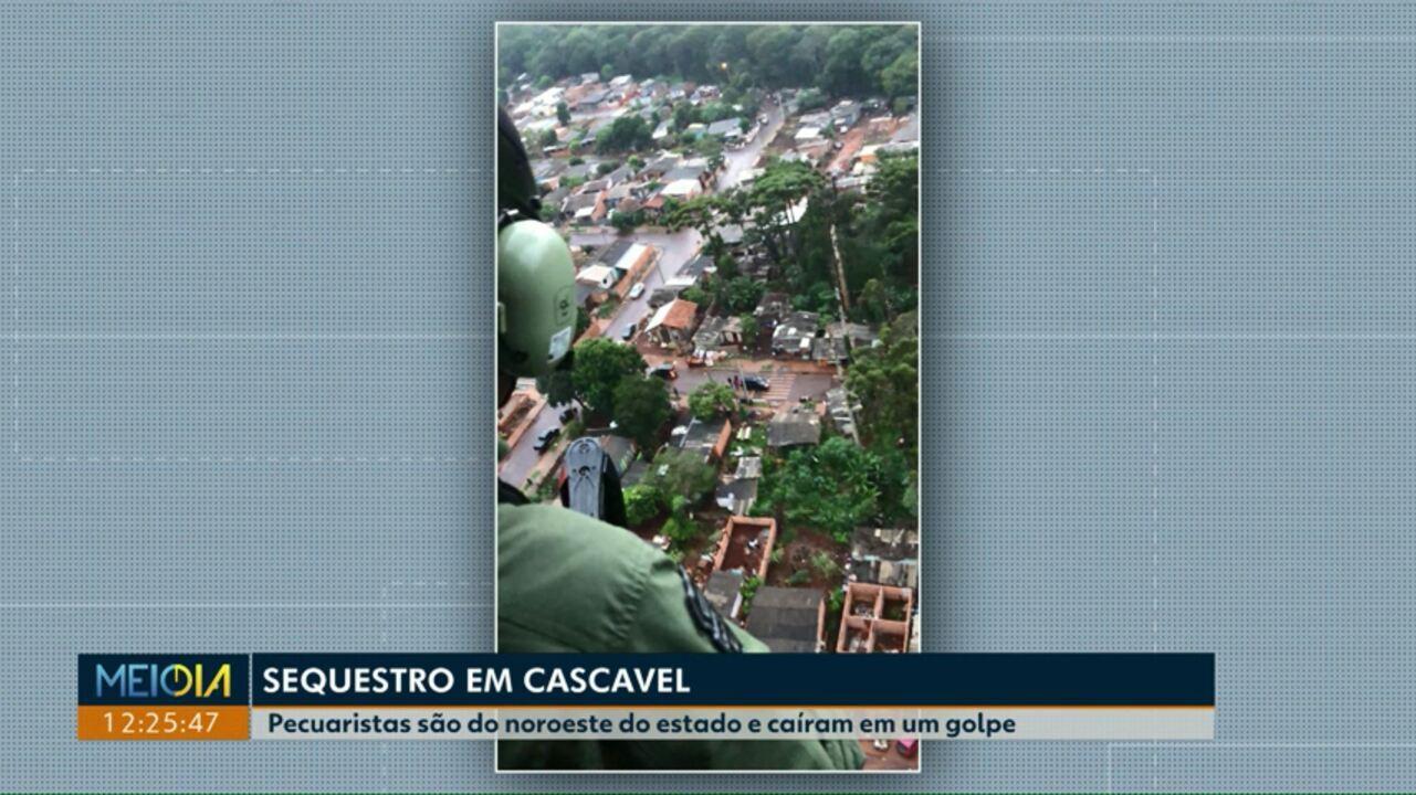 Pecuaristas são sequestrados e mantidos em cativeiro em Cascavel