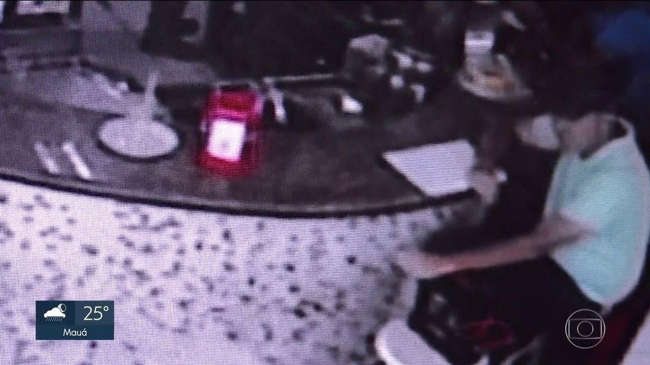Câmeras gravaram últimos momentos do comerciante Jorge Antônio Moraes em Suzano