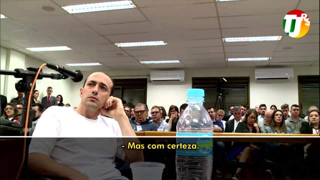 Veja como foi o depoimento do réu Leandro Boldrini nesta quarta-feira (13)