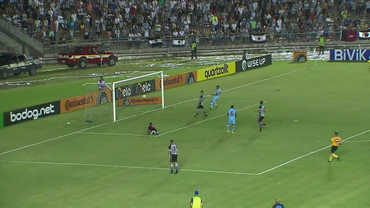 Os gols de Botafogo-PB 0 x 2 Londrina pela Copa do Brasil