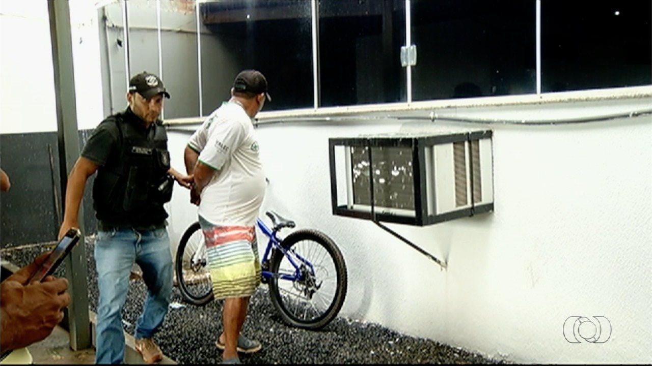 Motociclista suspeito de atropelar e matar menino em Rio Verde é preso