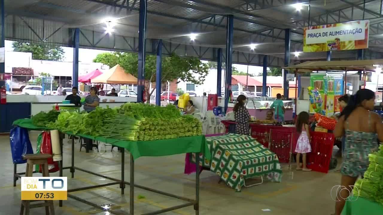 A feira do Jardim Aureny l funciona a partir deste mês também às quartas-feiras