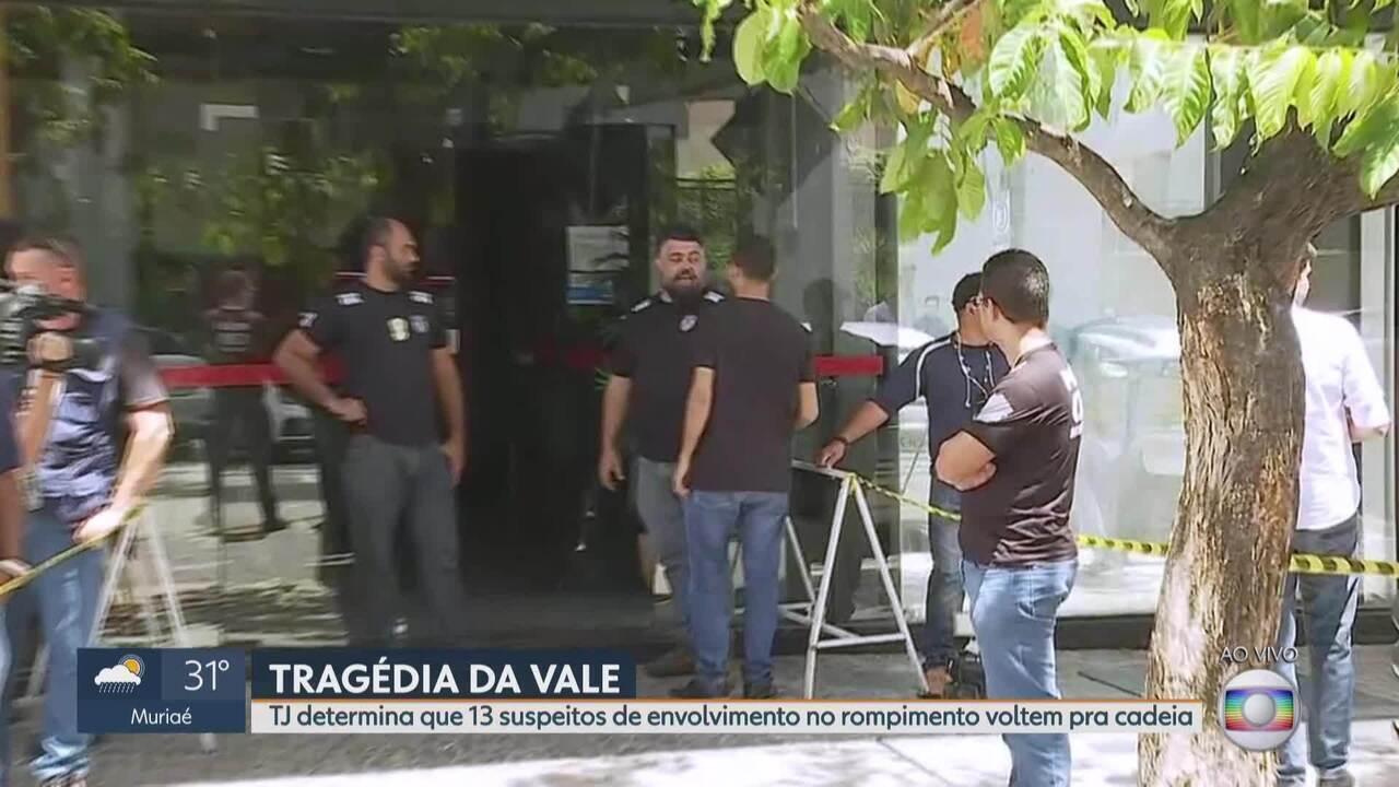 Envolvidos em desastre da Vale em Brumadinho se entregam à polícia
