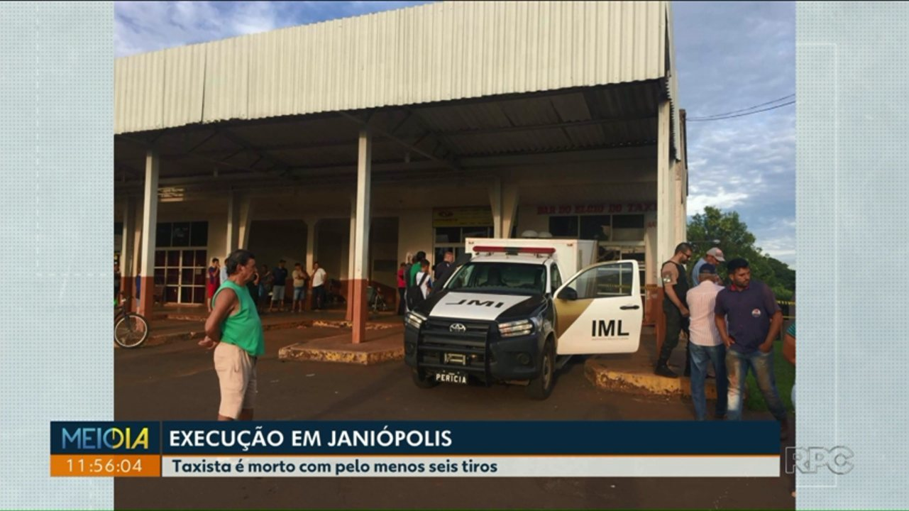 Taxista é executado a tiros em Janiópolis