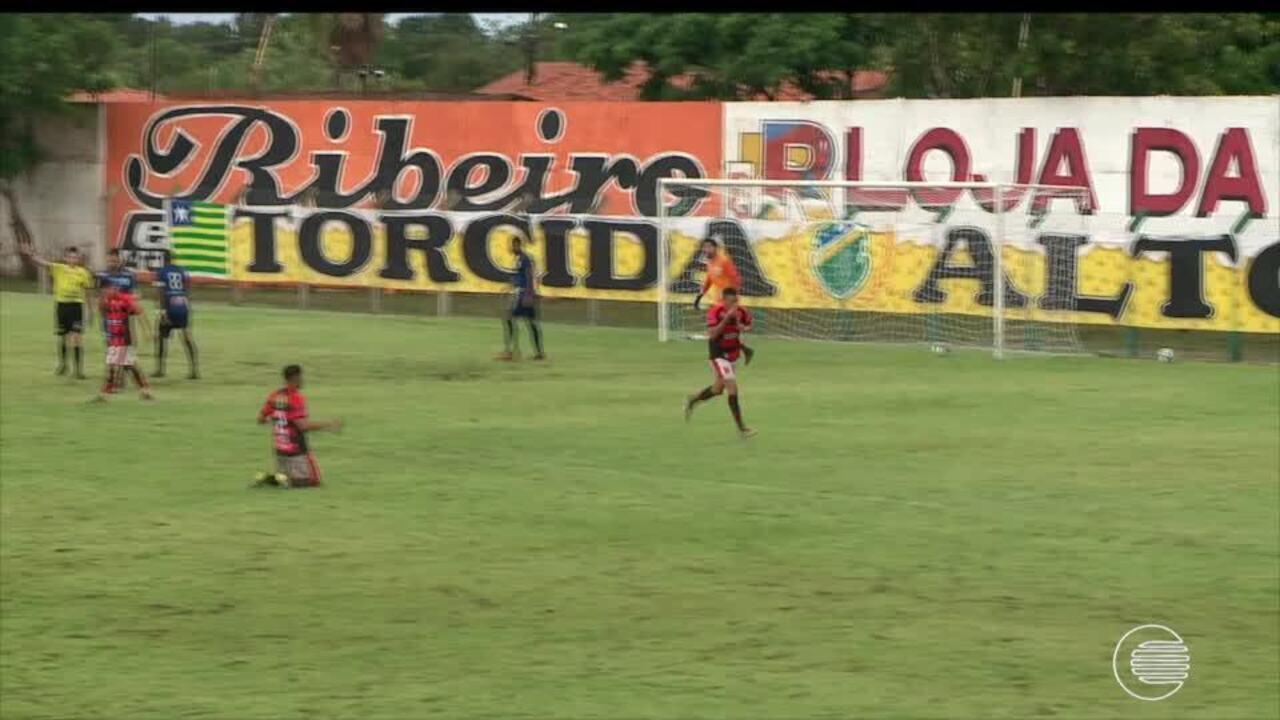 Confira os gols de Altos x Flamengo-PI