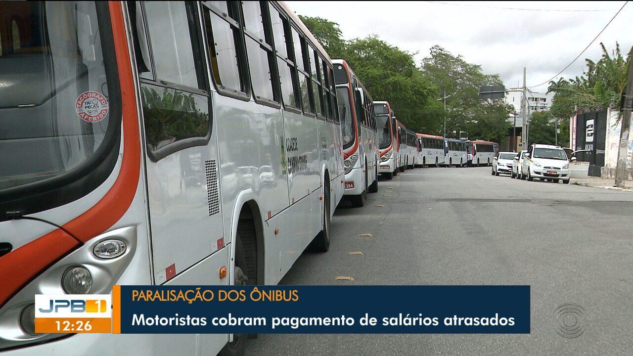 Manhã de paralisação dos ônibus em Campina