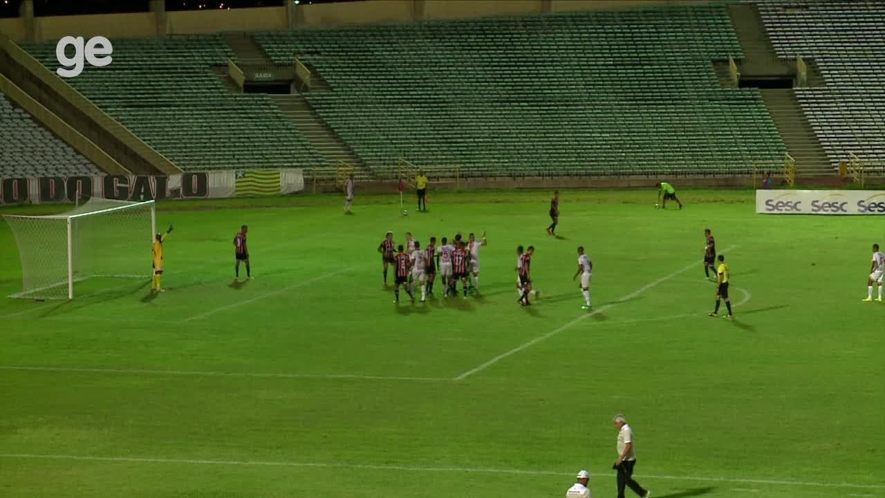 Segundo gol do River-PI saiu de jogada de contra-ataque ensaiada