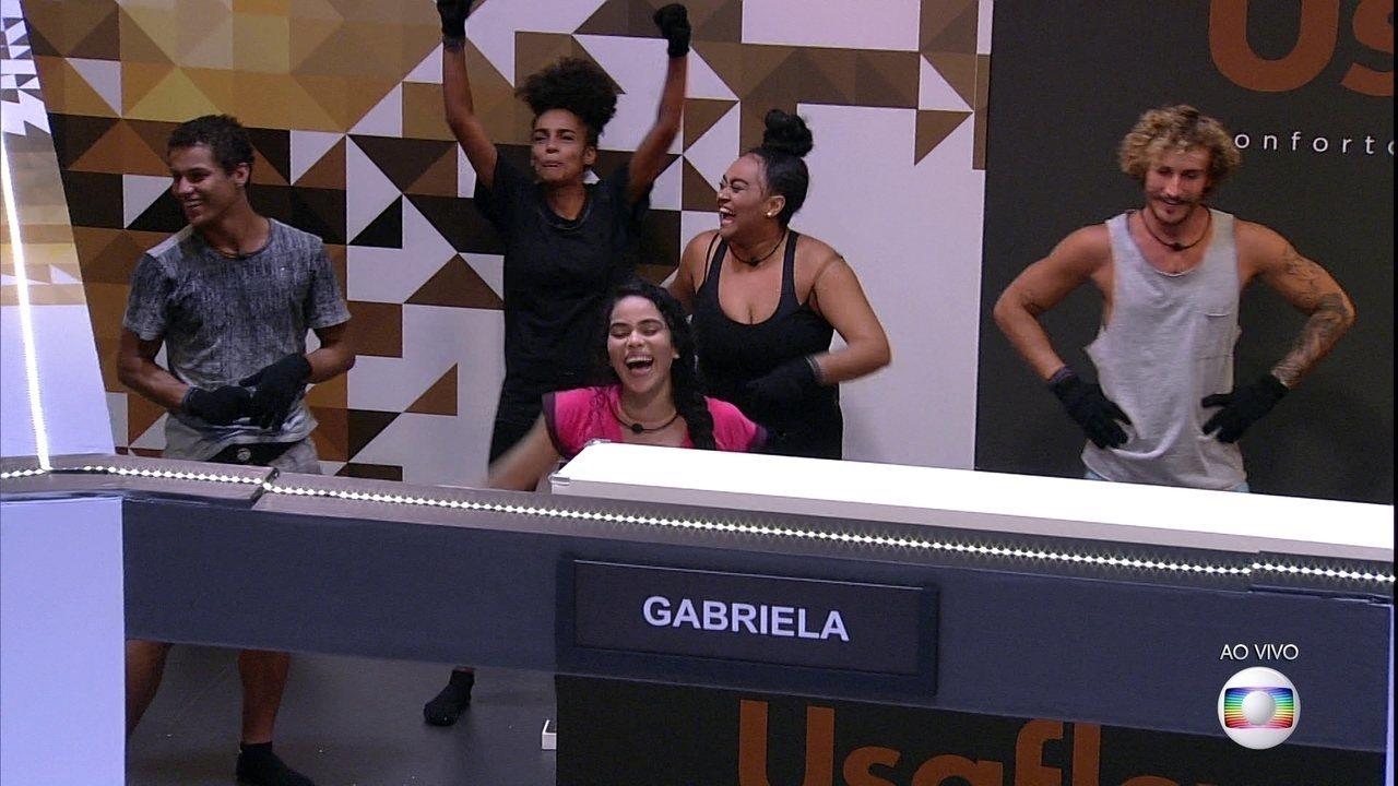 Gabriela é a nova Líder do BBB19