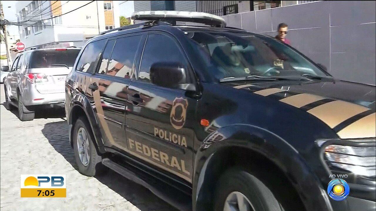 PF cumpre mandados de prisão contra grupo suspeito de agiotagem extorsiva, na PB e AP