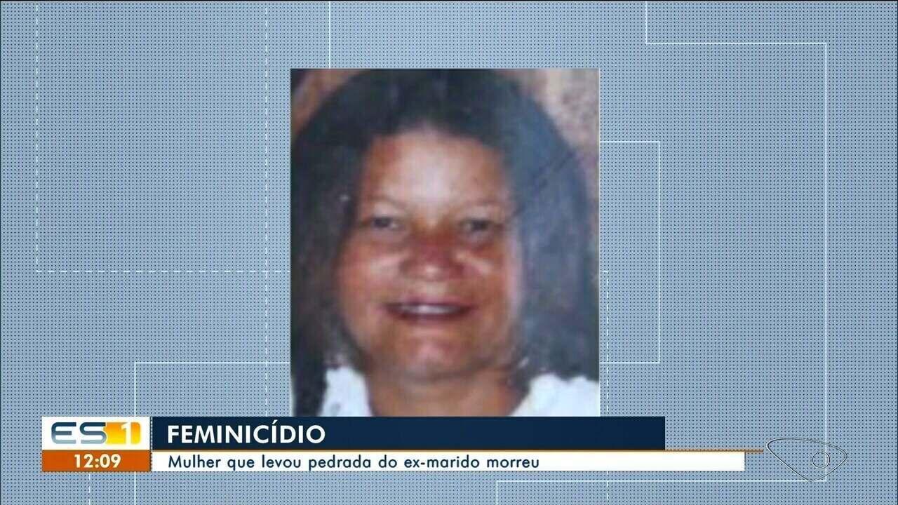 Mulher agredida com pedradas por ex-marido morre em hospital de Cachoeiro de Itapemirim