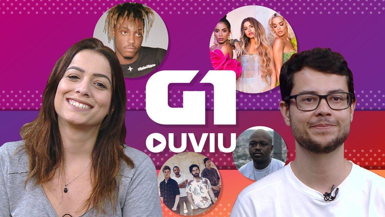 G1 Ouviu: Djonga no topo do rap, Anitta 'sextando', Foals apocalíptico e novo emo