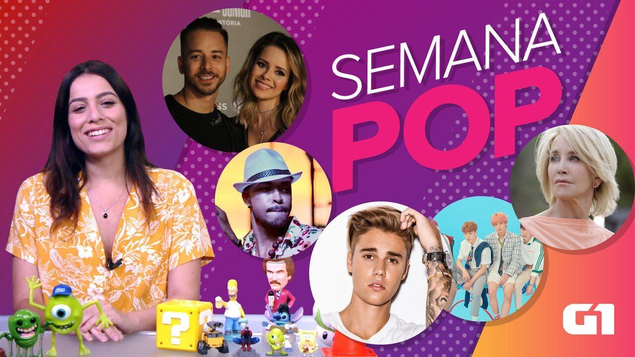 Semana Pop tem atrizes em caso de suborno, Sandy e Junior e saga dos fãs de BTS
