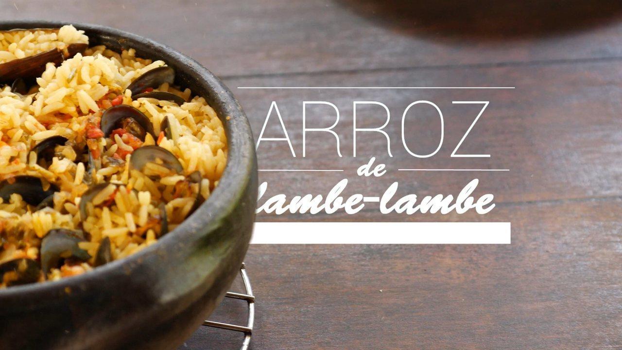 Aprenda o passo a passo da receita e arroz de lambe-lambe