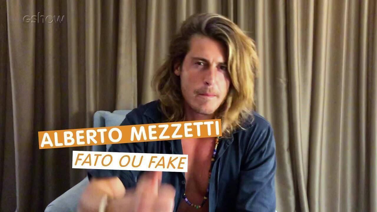 "Confira o Fato ou Fake com Alberto Mezzetti, o ""Tarzan"" italiano do BBB19"