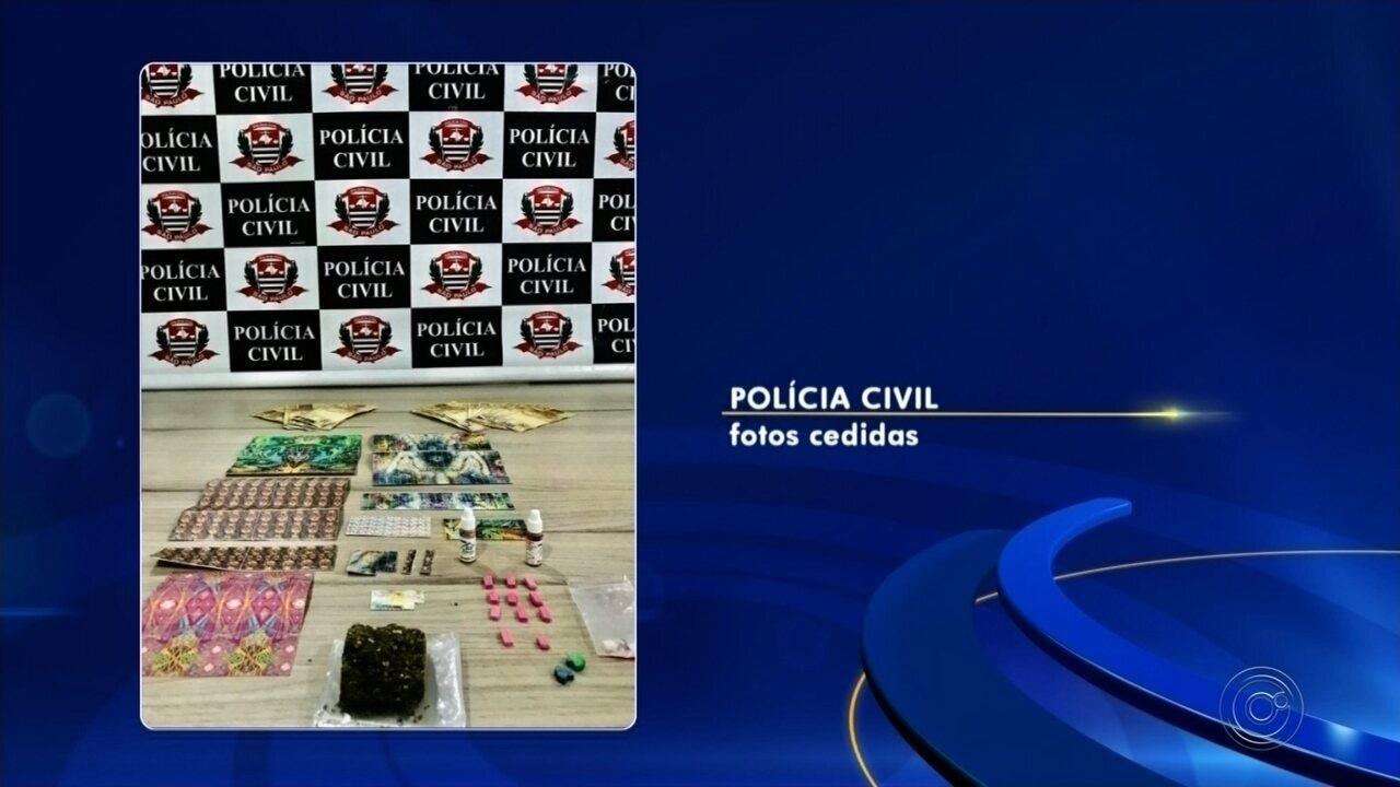 Dupla é presa por tráfico de drogas sintéticas em Rio Preto