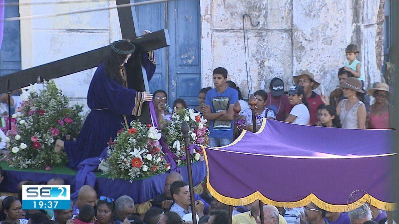 Procissão de Senhor do Passos acontece neste final de semana em São Cristóvão