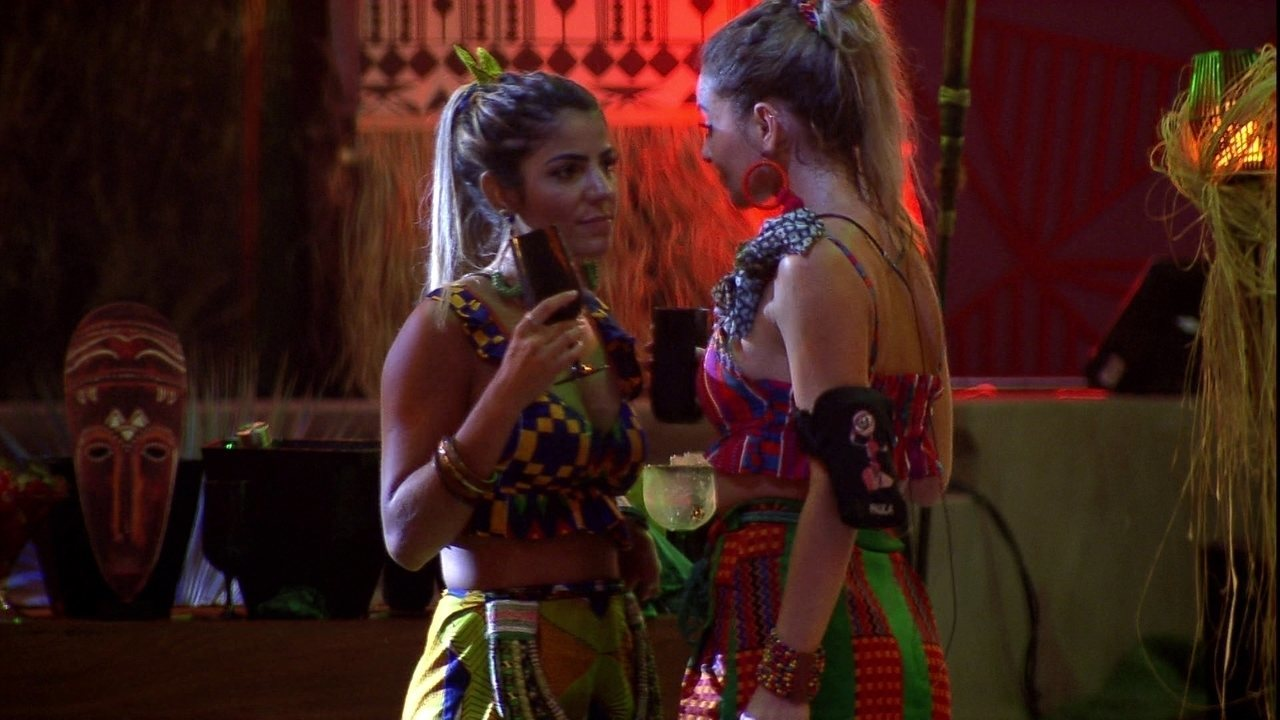 Hariany para Paula: 'O gringo não aguenta, não'