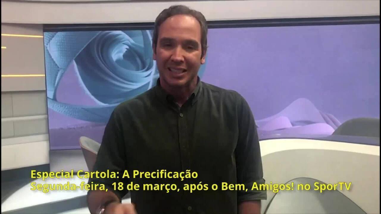 Caio Ribeiro será uma das atrações do programa especial Cartola: A Precificação