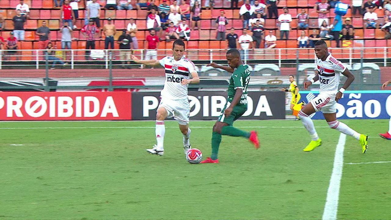 Melhores momentos de São Paulo 0 x 1 Palmeiras pela 11ª rodada do Campeonato Paulista