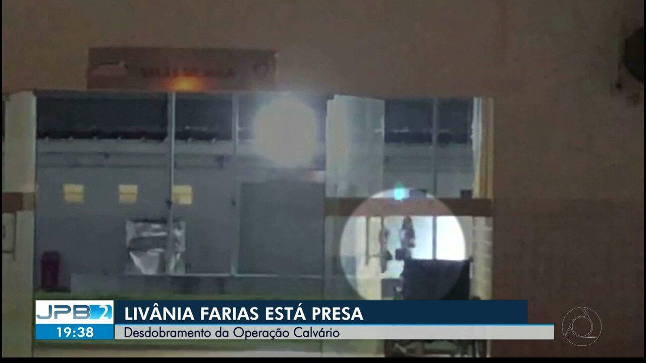 Livânia Farias, secretária de Administração da Paraíba, está presa