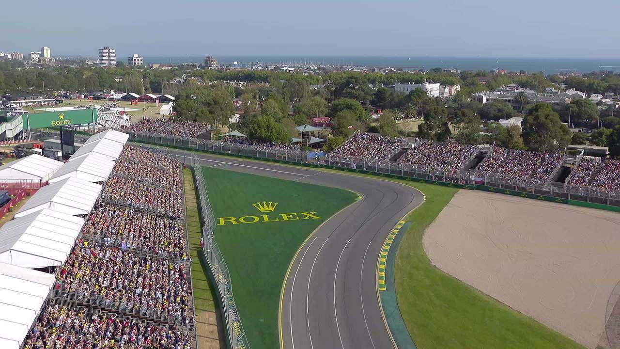 Largada de Robert Kubica no GP da Austrália de Fórmula 1