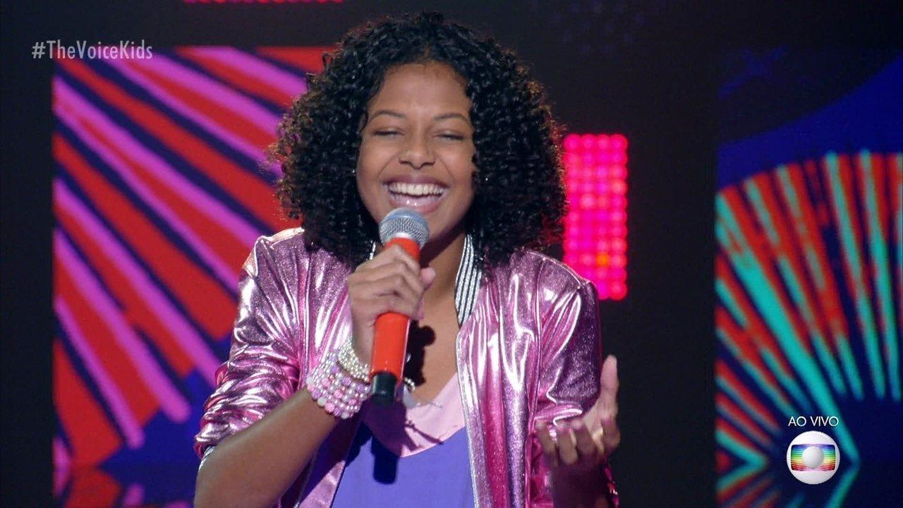 Jeane Barreto canta
