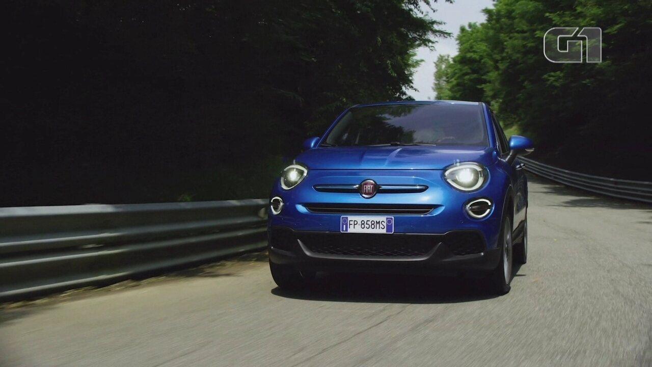 O G1 foi para a Espanha andar no novo SUV da Fiat, o 500X
